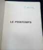 Le Printemps. Pierre Mac Orlan