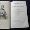 Correspondance de Henri Regnault annotée et recueillie par Arthur Duparc suivie du catalogue complet de l'oeuvre de H. Regnault et ornée d'un portrait ...