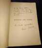 Enlevez les cales - Avec envoi autographe signé. René Chambe