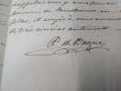 Comtesse de Boigne ( Louise Éléonore d'Osmond ) 11 Lettres Autographes Signées envoyées à Narcisse Achille de Salvandy - Joint Récits d'une tante , ...