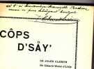 Cops D'say - Poésies et Chansons. CLASKIN Jules