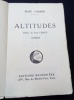 Altitudes .... René Chambe