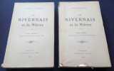Le Nivernais et la Nièvre - 2 tomes Complet. René Surugue