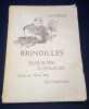 Brindilles - Recueil de fables et contes en vers. Louis Mirault