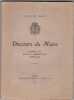 DIScours Du Maire - Ville De Nancy - Extraits Du Bulletin Administratif ( Année 1920).