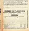Petit Echo De Saint Christophe De Chateauroux  - N°1 Première Année 1924. COLLECTIF