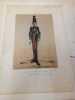 Types Militaires. Angleterre 1862 Royal Rifle Brigade.  Galerie Militaire de Toutes les Nations planche 8. RENARD (Jules) DRANER