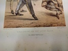 Types Militaires. Angleterre 1864  Officier d'état major.  Galerie Militaire de Toutes les Nations planche 50. RENARD (Jules) DRANER