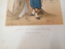 Types Militaires. France 1863 Tirailleurs Indigènes. Galerie Militaire de Toutes les Nations planche 43+ . RENARD (Jules) DRANER