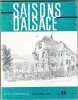 Saisons d'Alsace - Revue Trimestrielle - 11e Année - N°18 - Année 1966. COLLECTIF