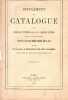 Supplément Au Catalogue Des Familles Titrées Sous Le Premier Empire D'aprés Les Documents Officiels Suivi De La Liste Des Titres Concédés Depuis 1866 ...