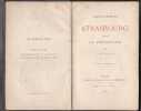 L'alsace Française - Strasbourg Pendant La Revolution. SEINGUERLET E