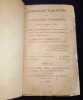 Almanach-tablettes ou calendrier éphéméride pour l'année 1818 ; contenant les grands évenements qui se sont succédés depuis 1787 jusqu'a 1808 , chaque ...