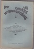 Les Cahiers Luxembourgeois - 1934 - N.8. Collectif