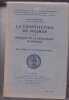 La constitution de Weimar et le principe de le démocratie Allemande - Essai d'histoire et de psychologie politiques . Edmond Vermeil