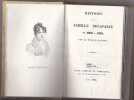 Histoire De La Famille Bonaparte De 1260 à 1850. RAISSON Horace