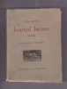 Journal Intime - Inedit - 2 tomes complet. Tolstoi