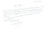 Manuscrit autographe LE DÎNER DE CONS . Francis VEBER