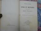 Histoires naturelles. Civils et militaires. . DURANDEAU (Emile) :