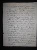Lettre autographe signée sur l'abbé Delille. Bérenger Laurent-Pierre (1749-1822), poète et moraliste, membre des académies de Toulon, Marseille, ...