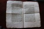 Parlement de Bordeaux - Requête imprimée.. Bordeaux 1747