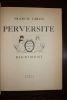 Perversité.. [Dignimont, illustrateur] Francis Carco