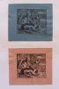 Ex-libris.. Ludwig Saeng (1848-1931) homme politique allemand (propriétaire), Hans Pieper (artiste), Ex-libris.