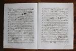 Partition gravée pour clarinette - Opus 38 5e trio.. Ludwig von Beethoven,