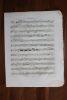 Partition gravée pour clarinette - Trio opus 11. Ludwig von Beethoven,