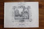 Partition gravée pour piano - Les dames de Séville, cinq valses.. Camille Schubert,