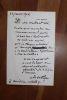 Lettre autographe signée à Aurélien Scholl. Anatole de La Forge (1820-1892), journaliste, homme politique, député de la Seine, vice-président de la ...