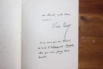 Lettre autographe signée à Aurélien Scholl. Victor Tissot (1844-1917), journaliste, écrivain.