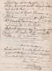 Lettre autographe signée. Alexis Dumagny (XIXe), acteur au Beaumarchais, au Montparnasse et aux Variétés.