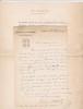 Lettre autographe signée à Achille Ségard. Gaston Sorbets (1874-1955), journaliste, rédacteur en chef de L'Illustration.