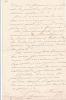 Lettre autographe signée. Louis de Cherisey (1830-1918), comte, d'une famille de militaires.