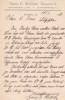 Lettre autographe signée. Georg E. Walther, éditeur allemand à Dresde.