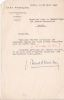 Lettre signée. Jacques Benoist-Méchin (1901-1983), musicologue, écrivain, homme politique, collaborationniste.