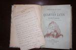 Le Quartier latin - Ces messieurs - Ces dames.. Maurice Barrès,
