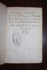 [Manuscrit - père Pasquier Quesnel], La Constitution Unigenitus de notre S.P. le pape Clément XI du 8 septembre 1713 qui condamne le livre des ...