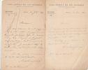 Lettre autographe signée au libraire Adolphe Durel (1847-1913). Alfred de Champeaux (1833-1903), bibliophile, inspecteur des Beaux-Arts, spécialisé ...