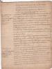 [Gallicanisme], Manuscrit visant à prouver l'indépendance des évêques vis-à-vis du Pape : « Que les évêques sont les juges de la foi dans leurs ...