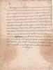 [Manuscrit, religion], Prière d'offrande. 1640. [Manuscrit, religion], Prière d'offrande. 1640