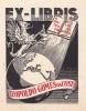 Ex-libris.. Leopoldo Gomes da Costa, Espagne (propriétaire), Ex-libris.