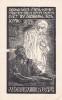 Ex-libris.. Vacslav Rual (propriétaire) ; Fr Bilek (artiste), Ex-libris.