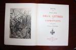 Deux lettres aux Combattants 1914-1915. Eugène Brieux [frontispice de Georges Jeanniot],