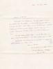 Lettre autographe signée. Henri Lacordaire (1802-1861), prêtre, prédicateur, journaliste.