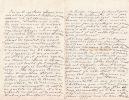 Lettre autographe signée. Théophile-Armand Ferré (1847-1929), général, professeur à l'école de guerre et à Saint-Cyr, président du souvenir français.