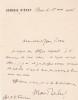 Lettre autographe signée à Jean-Paul Faure. Maurice Reclus (1883-1972), historien, homme politique, président de la commission antimaçonnique créée ...