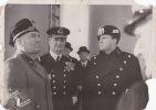 Benito Mussolini, photographie vers 1935-1940.. Benito Mussolini, photographie vers 1935-1940.