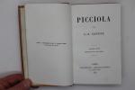 Picciola.. Joseph-Xavier Boniface dit X.-B. Saintine,